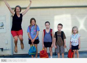 Volta às aulas! YES!